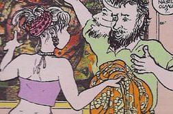 Comics against the Headscarf